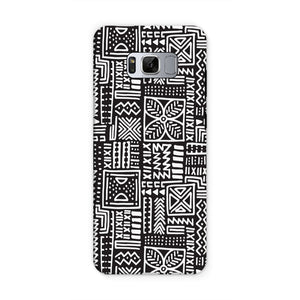 Luxury B&W- Flower Phone Case Phone & Tablet Cases Samsung S8 / Tough / Gloss