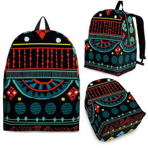 Aqua Tribal Backpack