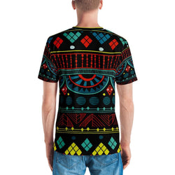 Aqua Tribal Men's Crew Neck XS