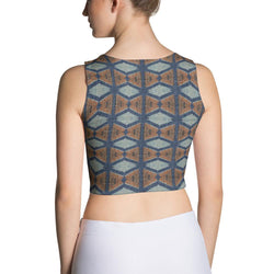Blue Prism Crop Top XS
