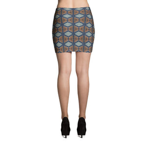 Blue Prism Mini Skirt