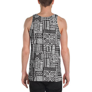 Luxury B&W- Flower Men's Tank