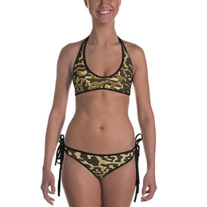 Luxury Gold- Leopard Bikini