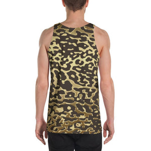 Luxury Gold- Leopard Men's Tank