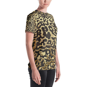 Luxury Gold- Leopard Women's Crew Neck