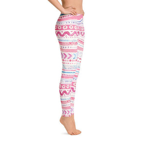 Luxury Pink- Cotton Candy Leggings