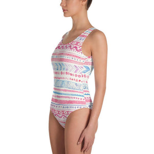 Luxury Pink- Cotton Candy One-Piece Swimsuit