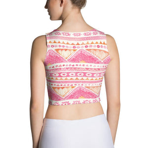 Luxury Pink- Sunset Crop Top