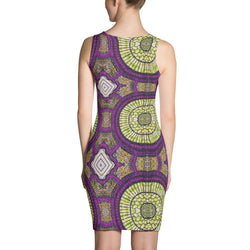 Modern Purple Dress XS