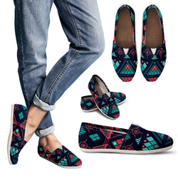 Pink & Blue Mosaic Women's Casual