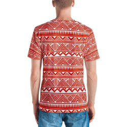 Red Tribal Men's Crew Neck XS