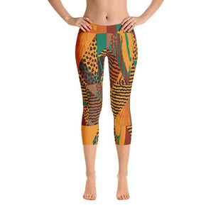 Safari Capri Leggings