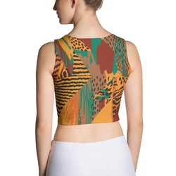 Safari Crop Top XS