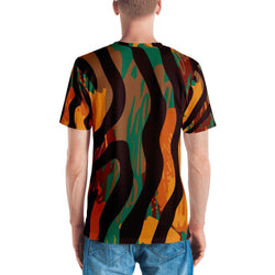Safari Stripe Men's Crew Neck XS