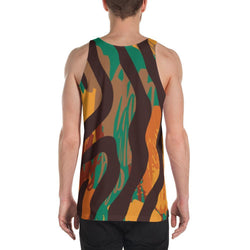 Safari Stripe Men's Tank XS