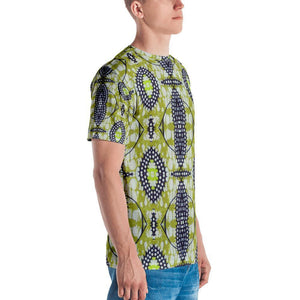 Traditional Lime Green Men's Crew Neck