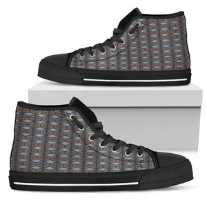 Blue Prism Women's Low & High Tops Womens High Top - Black - High B / US5.5 (EU36)