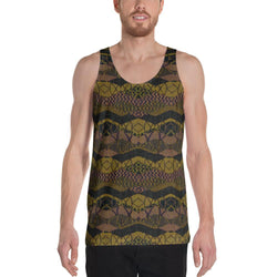 Crocodile Green Men's Tank XS