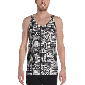 Luxury B&W- Flower Men's Tank XS