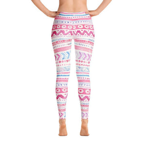 Luxury Pink- Cotton Candy Leggings XS