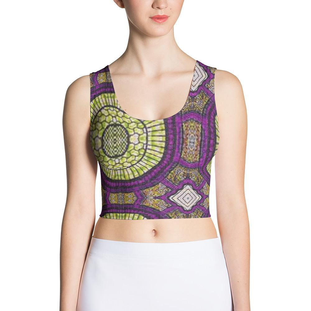 Modern Purple Crop Top XS