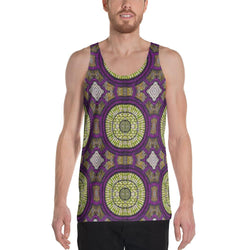 Modern Purple Men's Tank XS