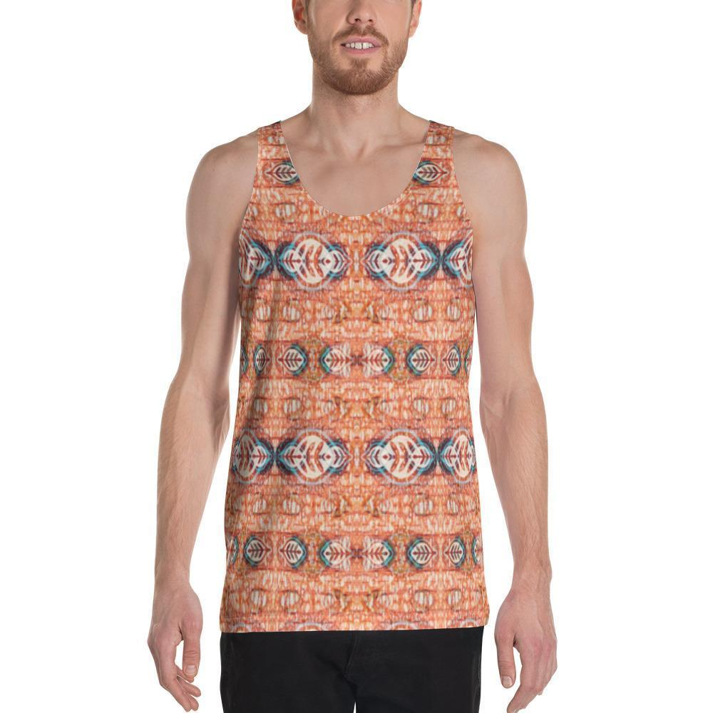 Orange Blossom Men's Tank XS