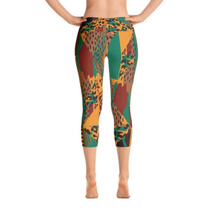 Safari Capri Leggings XS