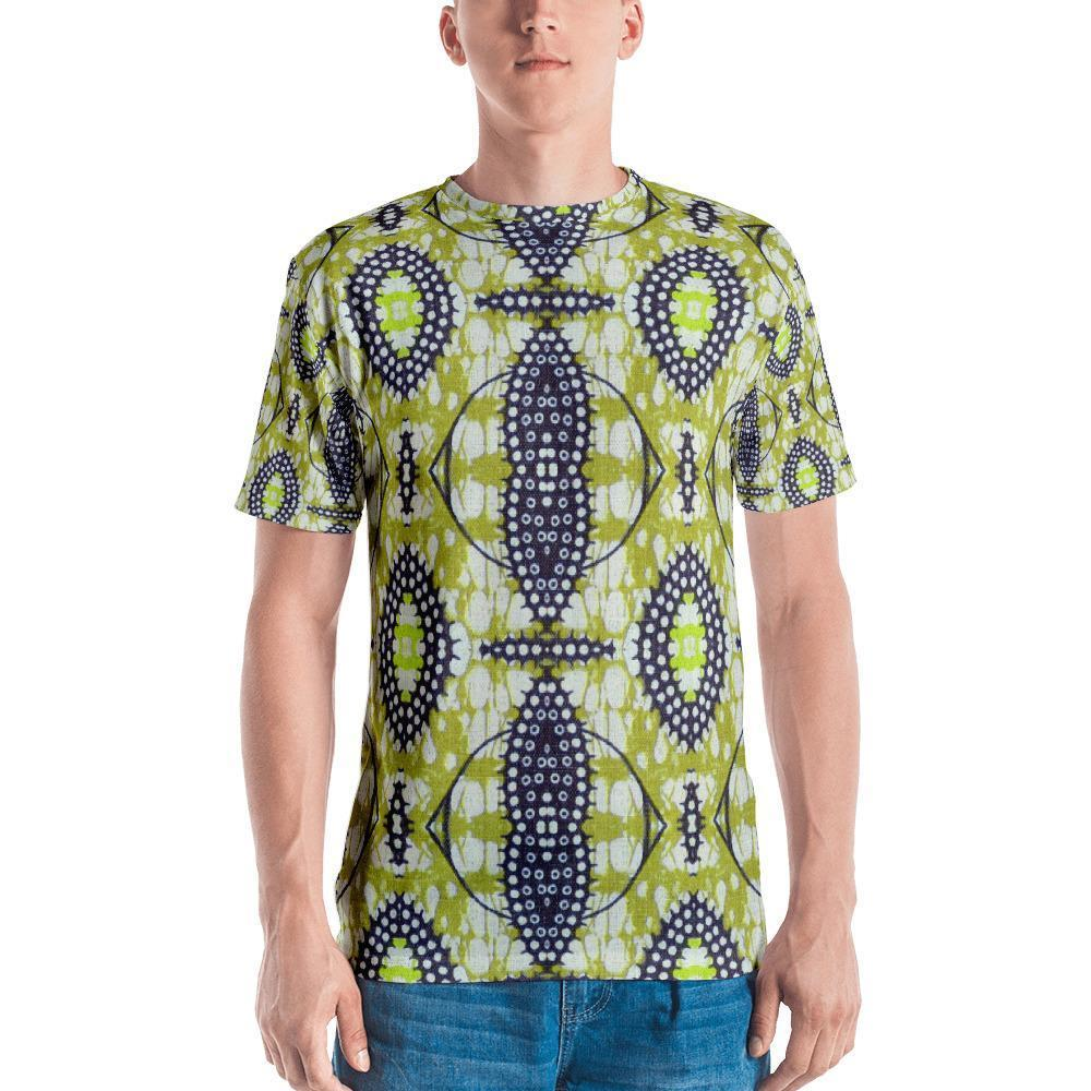 Traditional Lime Green Men's Crew Neck XS