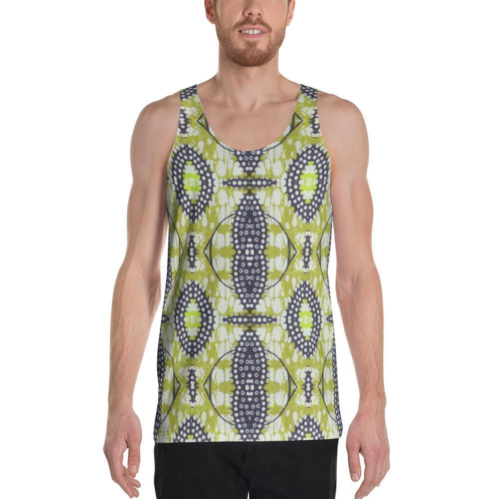 Traditional Lime Green Men's Tank XS