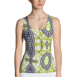 Traditional Lime Green Women's Tank XS