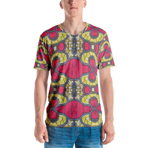Traditional Pink Men's V-Neck XS
