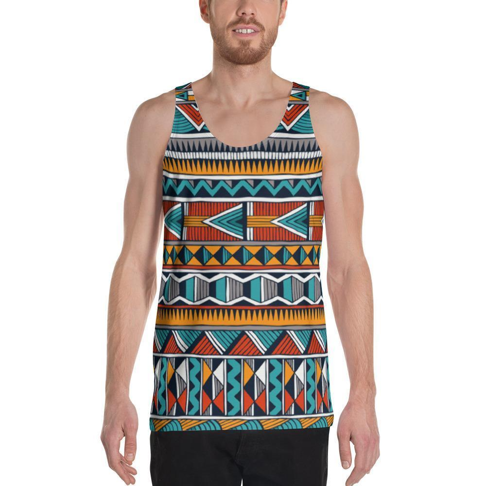 Triangle Tribal Men's Tank XS