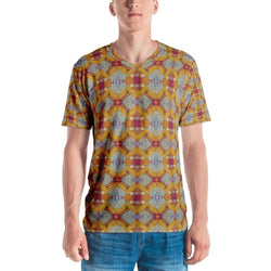 Yellow Diamond Men's V-Neck XS