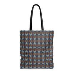 Blue Prism Tote Bags Large