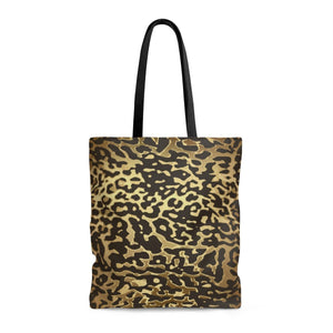 Luxury Gold- Leopard Tote Bags Large