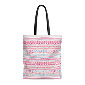 Luxury Pink- Cotton Candy Tote Bags Large