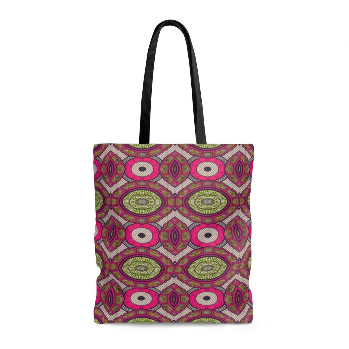 Modern Pink Tote Bags Large