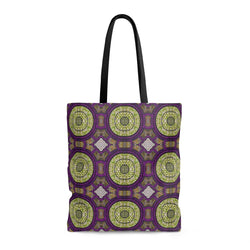 Modern Purple Tote Bags Large