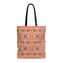 Orange Blossom Tote Bags Large