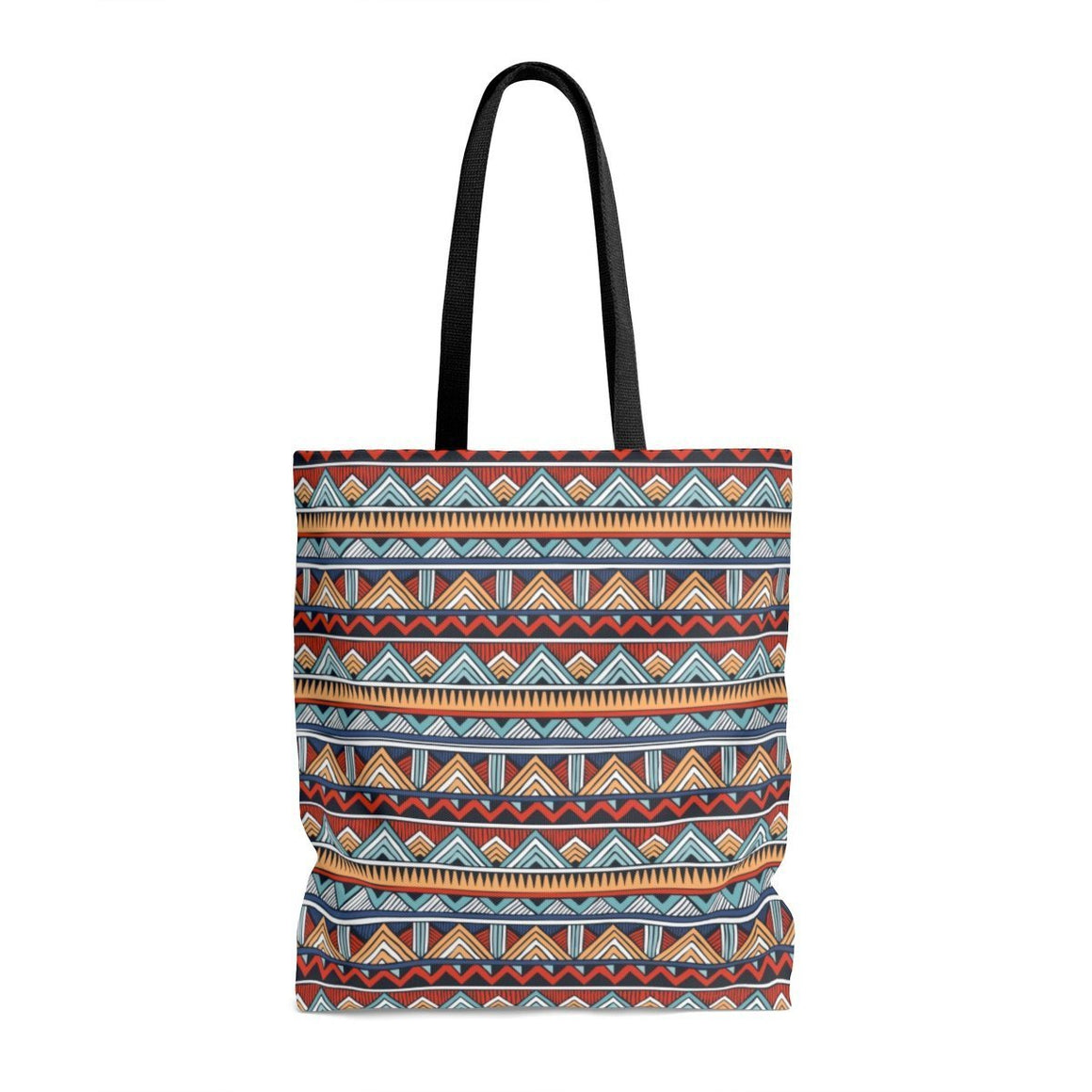 Red & Blue Tribal Tote Bags Large