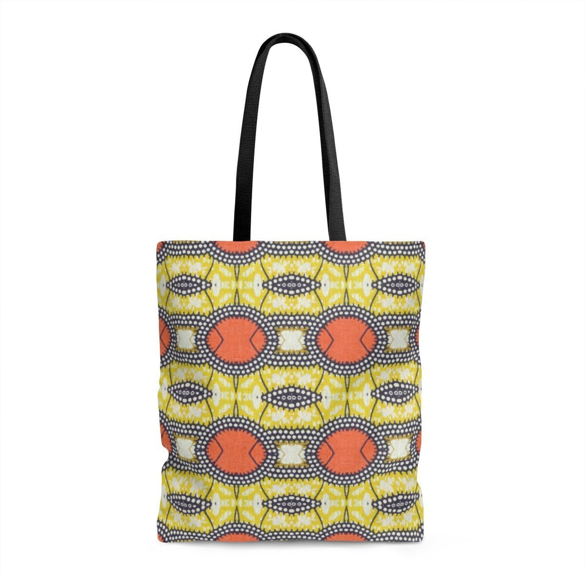 Traditional Orange Tote Bags Large