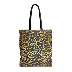 Luxury Gold- Leopard Tote Bags