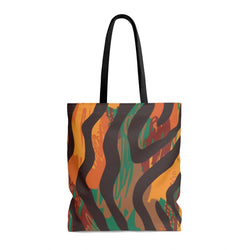 Safari Stripe Tote Bags Large