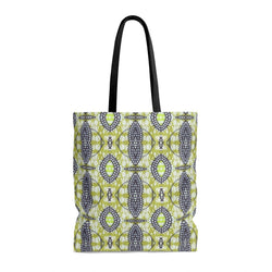 Traditional Lime Green Tote Bags Large