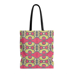 Traditional Pink Tote Bags Large