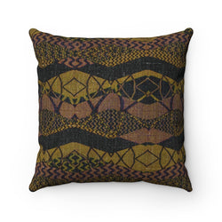 Crocodile Green Pillow Home Decor 14x14