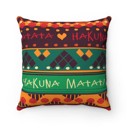 Hakuna Matata Pillow Home Decor 14x14