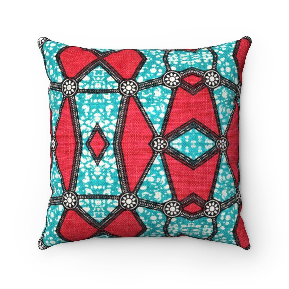 Pink Kaleidoscope Pillow Home Decor 14x14