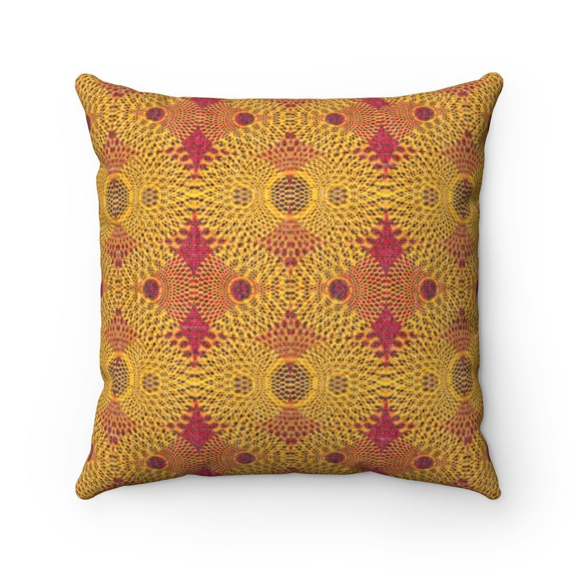 Sunburst Pillow Home Decor 14x14